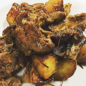 Abbacchio al forno con patate